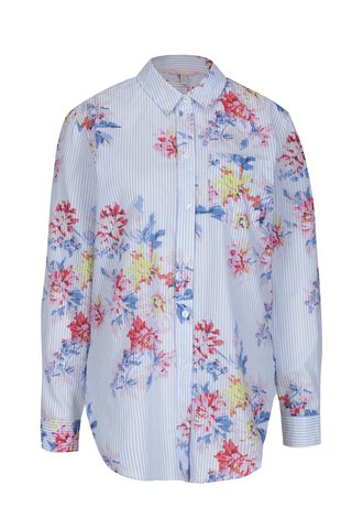 Camasa albastra cu print floral pentru femei - Tom Joule