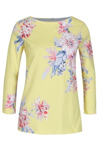 Bluza galbena cu maneci 3/4 pentru femei - Tom Joule