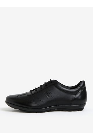Pantofi sport negri din piele pentru barbati - Geox Symbol B