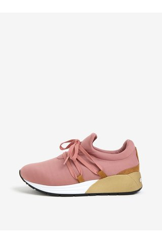 Pantofi sport roz cu platforma - Pieces Mary