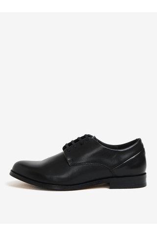 Pantofi negri din piele pentru femei - Royal RepubliQ