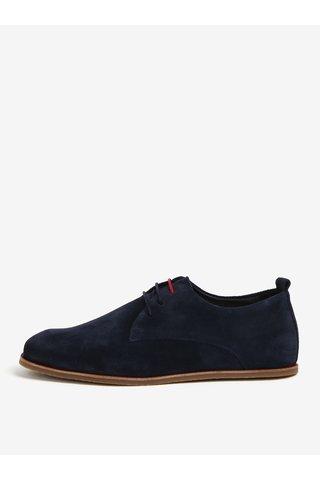 Pantofi bleumarin din piele intoarsa pentru barbati - Royal RepubliQ