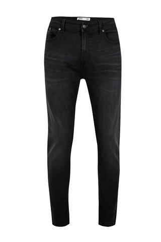 Blugi gri inchis cu buzunare pentru barbati - Burton Menswear London