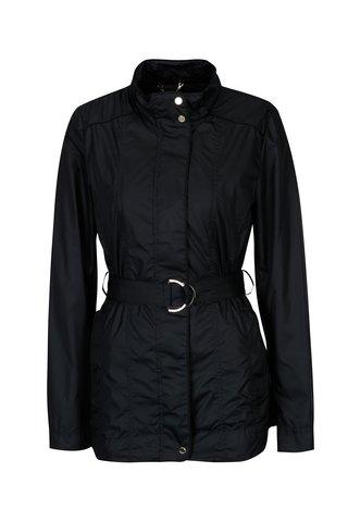 Jacheta impermeabila bleumarin cu cordon pentru femei Geox
