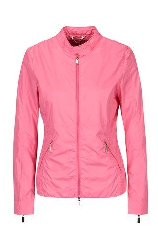Jacheta lejera roz impermeabila pentru femei Geox