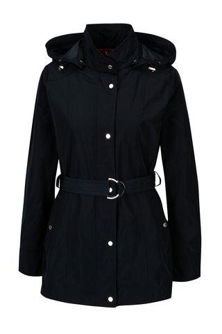 Jacheta bleumarin cu cordon in talie pentru femei Geox