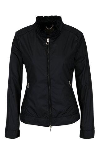 Jacheta bleumarin cu centura in talie pentru femei Geox