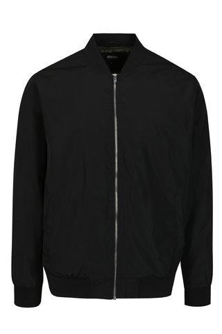 Jacheta bomber neagra pentru barbati -  Burton Menswear London