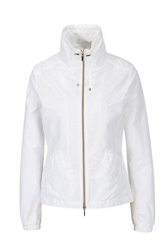 Jacheta lejera alba pentru femei Geox