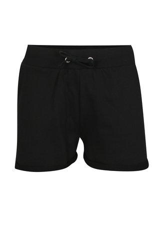 Pantaloni scurti negri cu snur Noisy May Lucky