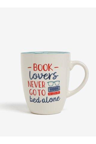 Krémový hrnek s potiskem CGB Book lovers