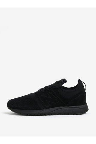 Pantofi sport negri din piele intoarsa pentru barbati - New Balance MRL247