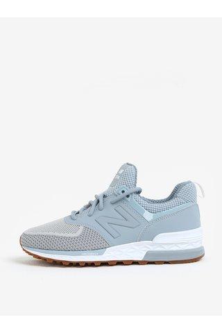 Pantofi sport bleu pentru femei New Balance WS574