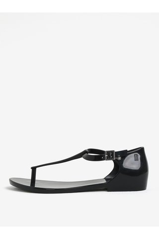 Sandale negre impermeabile Melissa Honey