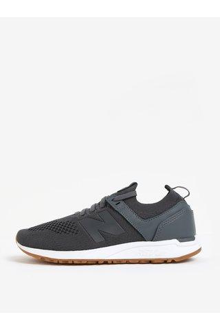 Pantofi sport gri inchis pentru femei New Balance WRL247