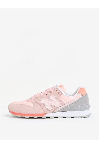 Pantofi sport roz pal pentru femei New Balance WR996