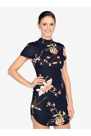 Rochie mini cu print floral si fermoar AX PARIS