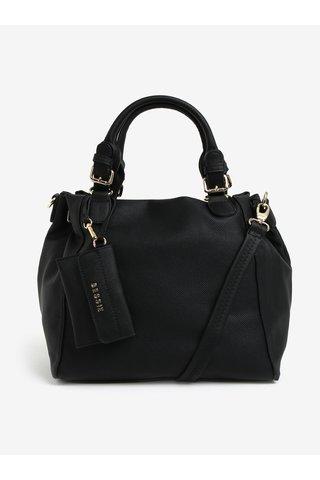 Geanta neagra cu manere si portofel exterior - Bessie London