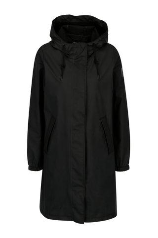 Černý dámský voděodolný lehký kabát Makia