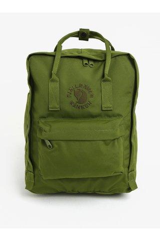 Rucsac verde realizat din material reciclabil  Fjällräven Re-Kånken 16 l