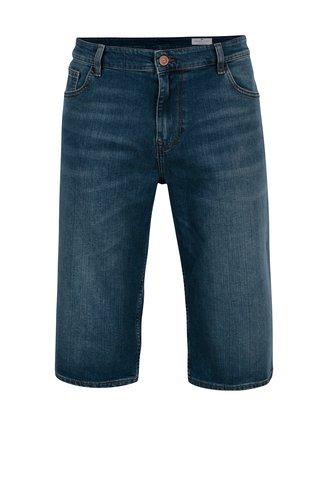 Pantaloni scurti din denim regular fit albastri pentru barbati - Cross Jeans