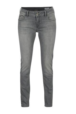 Blugi gri skinny fit pentru femei - Cross Jeans