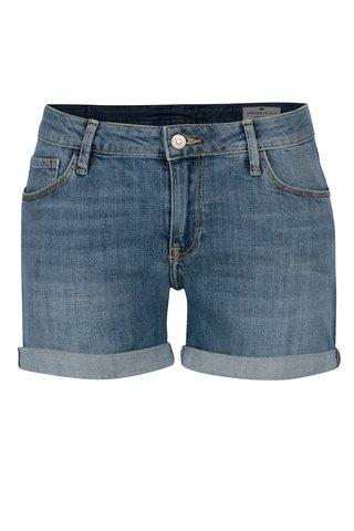 Pantaloni scurti din denim regular fit albastri pentru femei - Cross Jeans