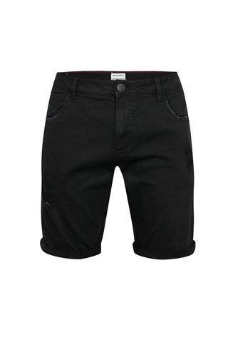 Pantaloni scurti negri din denim - Shine Original