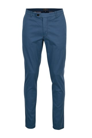 Pantaloni chino albastri modern fit - Fynch-Hatton