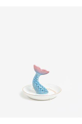 Farfurie ceramica pentru bijuterii cu motiv sirena - Sass & Belle Mermaid