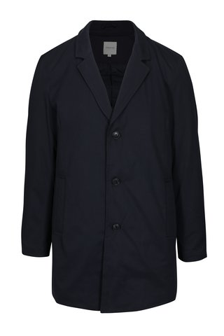 Palton bleumarin cu guler detasabil - Jack & Jones Tristan