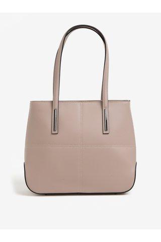 Starorůžová dámská kožená kabelka KARA