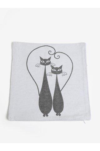 Fata de perna crem cu pisici - Dakls