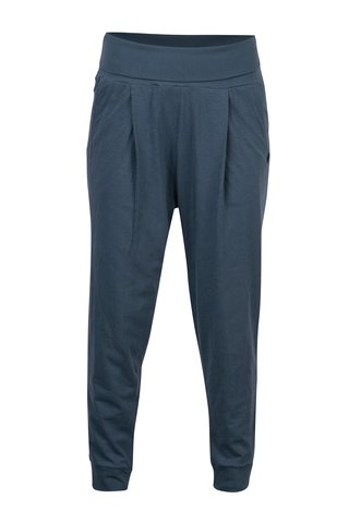 Pantaloni sport albastri cu talie elastica Tranquillo Linea