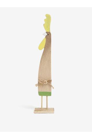 Decoratiune din lemn in forma de cocos - Dakls