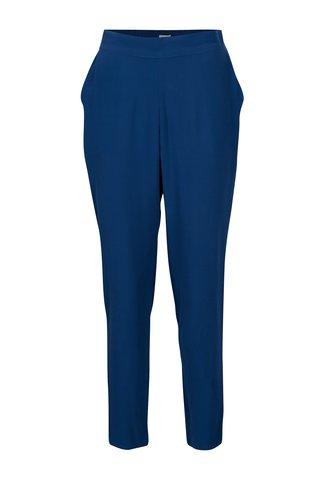 Modré volné kalhoty s vysokým pasem Yerse