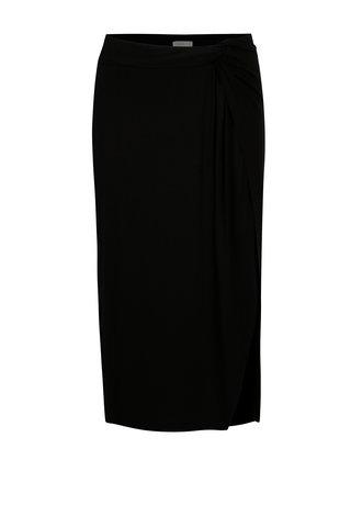 Černá sukně s rozparkem na boku Yerse
