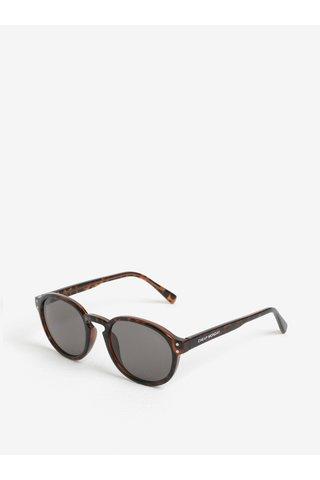 Ochelari de soare cu rama rotunda animal print pentru femei - Cheap Monday Cytric