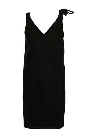 Černé džínové šaty Noisy May Bella