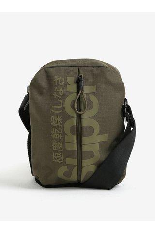 Khaki pánská taška přes rameno Superdry