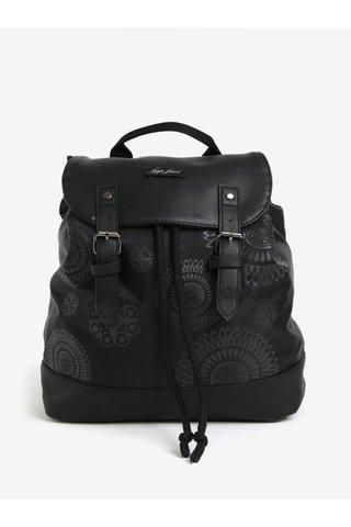 Rucsac negru cu print ornamental pentru femei LOAP Asana