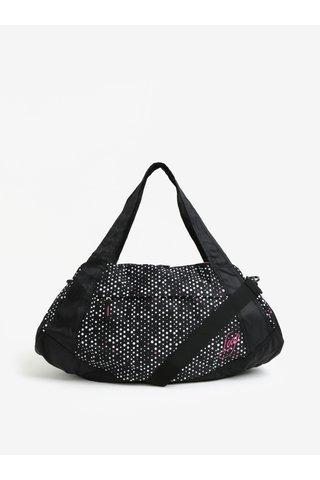 Geanta sport neagra cu buline pentru femei LOAP Sandrine 30 l