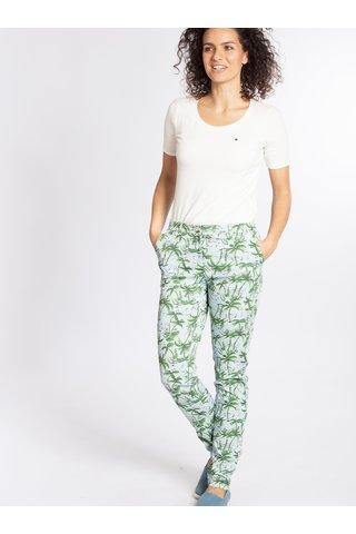 Zeleno-modré vzorované kalhoty Blutgeschwister