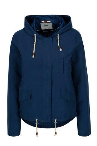 Modrá bunda s kapucí ONLY New Skylar