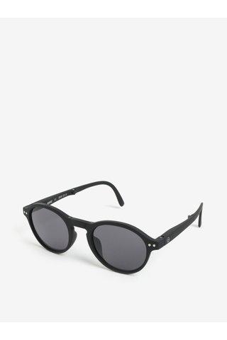 Černé unisex sluneční skládací brýle IZIPIZI #F