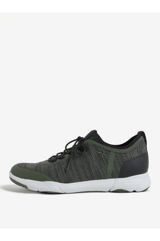 Pantofi sport verzi pentru barbati Geox Nebula X