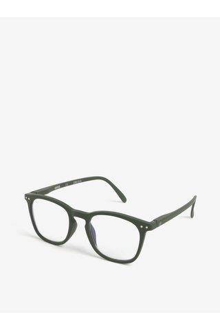 Khaki unisex ochranné brýle k PC IZIPIZI #E