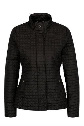 Jacheta matlasata neagra impermeabila pentru femei Geox