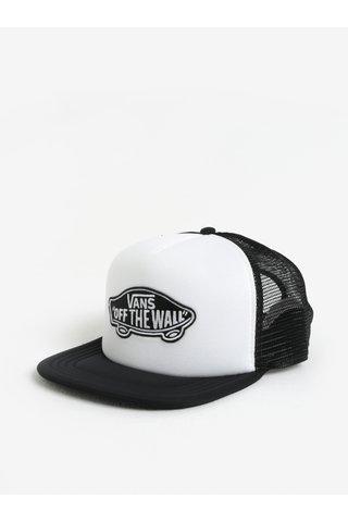 Sapca negru & alb cu aplicatie tip logo pentru barbati -  VANS Classic Patch