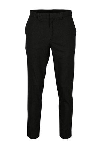 Tmavě šedé pánské skinny kalhoty Burton Menswear London